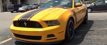 2013 Ford Mustang Boss 302 in School Bus Yellow [Video]