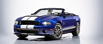 2013 Ford Shelby GT500 Convertible Officially Unveiled