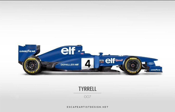 2013 Formula One Cars Rendered with Classic Liveries [PHoto Gallery]