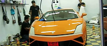 2013 Gallardo LP560 Gets Clear Stoneguard Wrap [Video]
