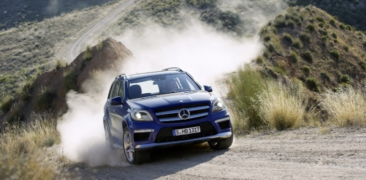2013 Mercedes Benz GL-Class Luxury SUV Unveiled [Photo Gallery]