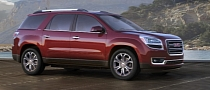 2013 GMC Acadia Priced From $34,875 [Photo Gallery]