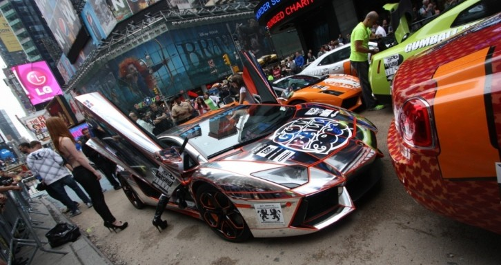 2013 Gumball 3000 15th Anniversary Route Confirmed
