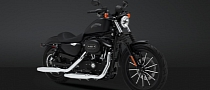 2013 Harley-Davidson Iron 883 Is Black and Mean [Photo Gallery]