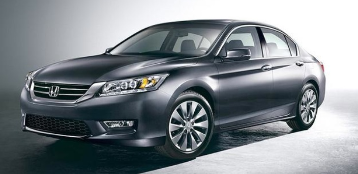 2013 Honda Accord EPA-Rated at 36 MPG