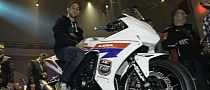 2013 Honda CBR500R Launched by World Superbike Rider Jonathan Rea [Video]