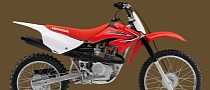 2013 Honda CRF100F, the Dirt Bike Bridging Children and Teenagers