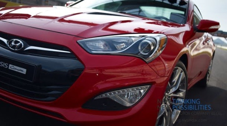 2013 Hyundai Genesis Coupe Gets Official