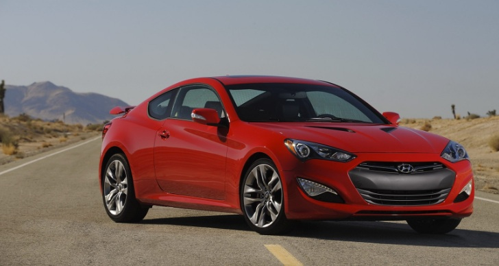 2013 Hyundai Genesis Coupe Makes US Road Video Debut