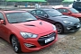 2013 Hyundai Genesis Coupe Spotted Undisguised at Korean Circuit