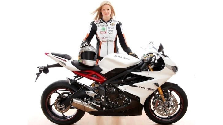 2013 Isle of Man TT: Maria Costello Shows that Girls Can Ride