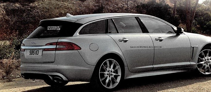 2013 Jaguar XF Sportbrake Photos Leaked