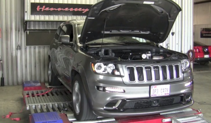 2013 Jeep Grand Cherokee SRT8 Gets 650 HP from Hennessey [Video]