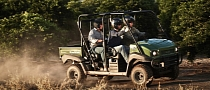 2013 Kawasaki MULE 4010 TRANS 4x4 Diesel, Convenience and Power in the Same Package