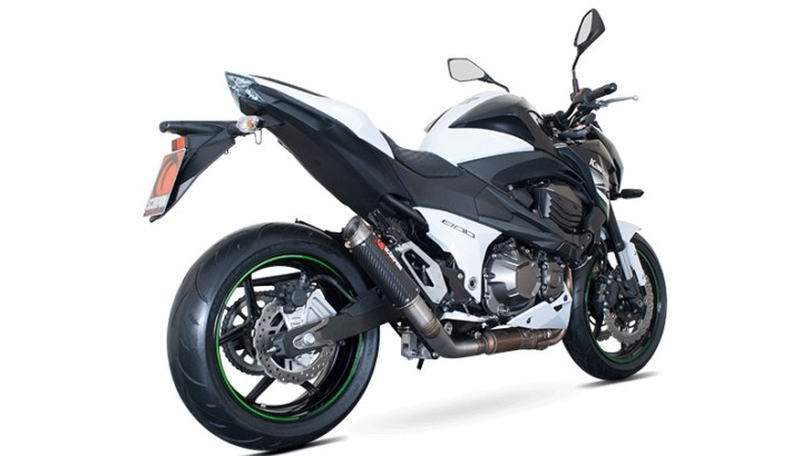 2013 Kawasaki Z800 Gets Street-Legal Race-Specced Scorpion Exhaust [Photo Gallery]