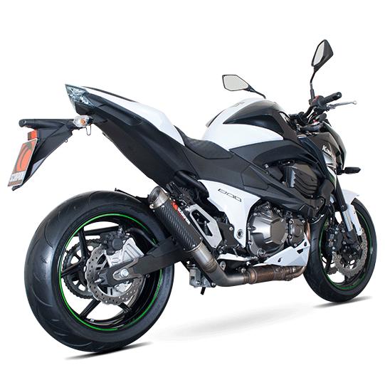 2013 Kawasaki Z800 Gets Street Legal Race Specced Scorpion Exhaust