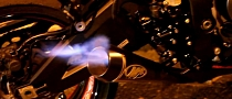 2013 Kawasaki ZX-10R with M4 Exhaust and Flames [Video]