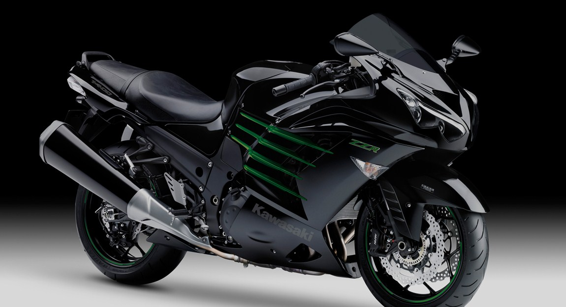 ... have to be the 2013 Kawasaki ZZR1400 Special Edition... and it is