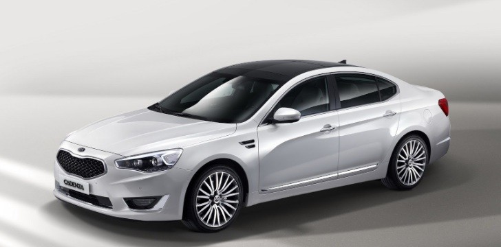 2013 Kia K7 / Cadenza Facelift Revealed