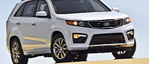 2013 Kia Sorento Unveiled: New Equipment and Packages