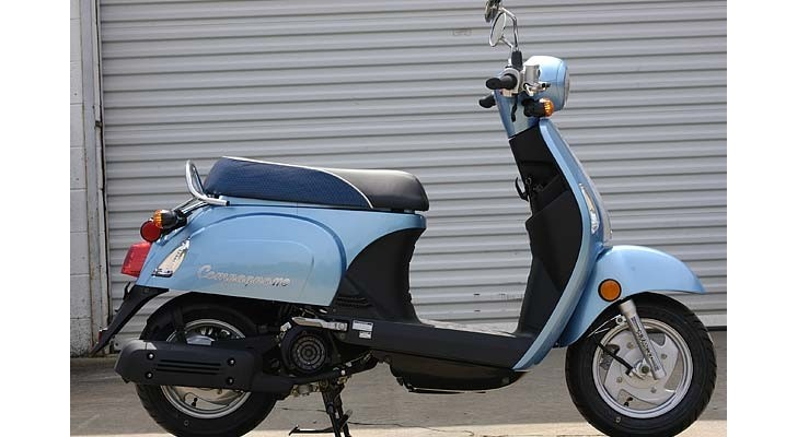 2013 Kymco Compagno 110i, a Classic, Fun Package [Photo Gallery]