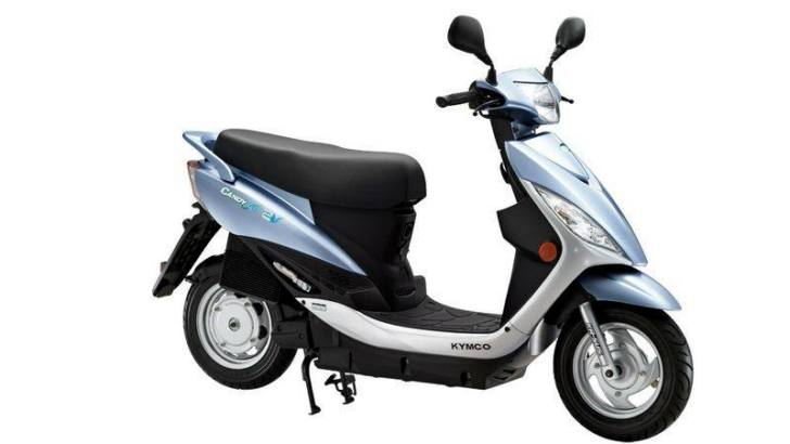 2013 Kymco Shows the Candy Electric Scooter