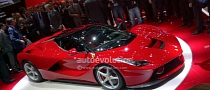 2013 LaFerrari: Ferrari Enzo Successor Revealed in Geneva [Live Photos]