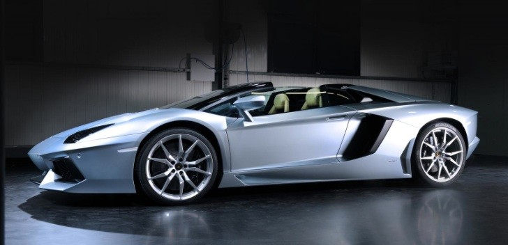 2013 Lamborghini Aventador LP700-4 Roadster Revealed [Photo Gallery]