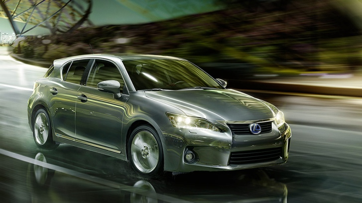 2013 Lexus CT 200h F Sport Rated Highly as Sporty Hybrid in Canada