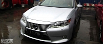 2013 Lexus ES Spied in China