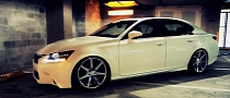 2013 Lexus GS 350 on Vossen Wheels [Video]