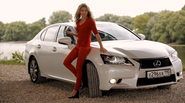 2013 Lexus GS 350 Reviewed by Sexy Anastasia [Video]