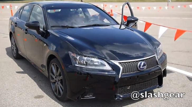 2013 lexus gs 450h f sport first drive by slash gear. Black Bedroom Furniture Sets. Home Design Ideas