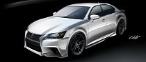 2013 Lexus GS F-Sport by Five Axis Unveiled