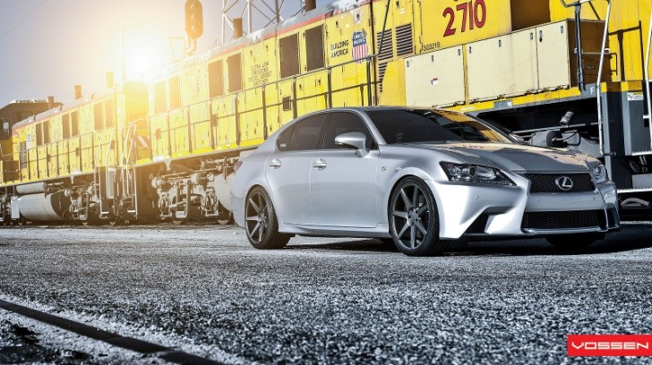 2013 Lexus GS Gets 20-Inch Vossen Wheels [Photo Gallery]