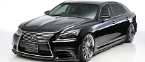 2013 Lexus LS by Wald International Previewed