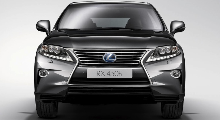2013 Lexus RX 450h US Details and Pricing