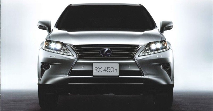 2013 Lexus RX Facelift With Spindle Grille Leaked