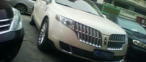 2013 Lincoln MKT Spotted in China