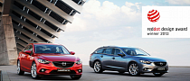 2013 Mazda6 Wins Red Dot Design Award