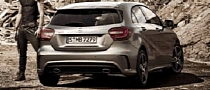 2013 Mercedes A-Class Leaked Photo Shows AMG Rear