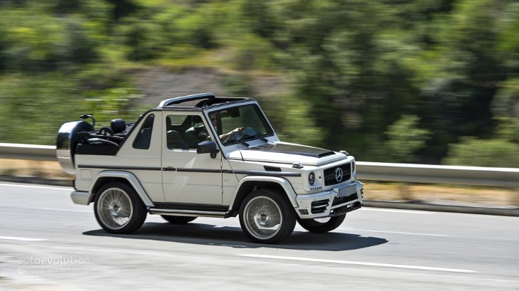 2013 Mercedes-Benz G500 Cabriolet Tested