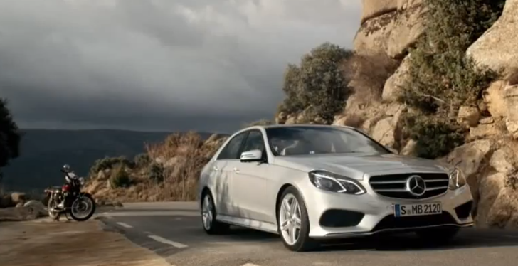 2013 Mercedes E-Class Commercial: Interesting [Video]