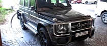 2013 Mercedes G63 AMG Spotted in Dubai [Video]