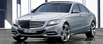 2013 Mercedes S-Class Rendering Released
