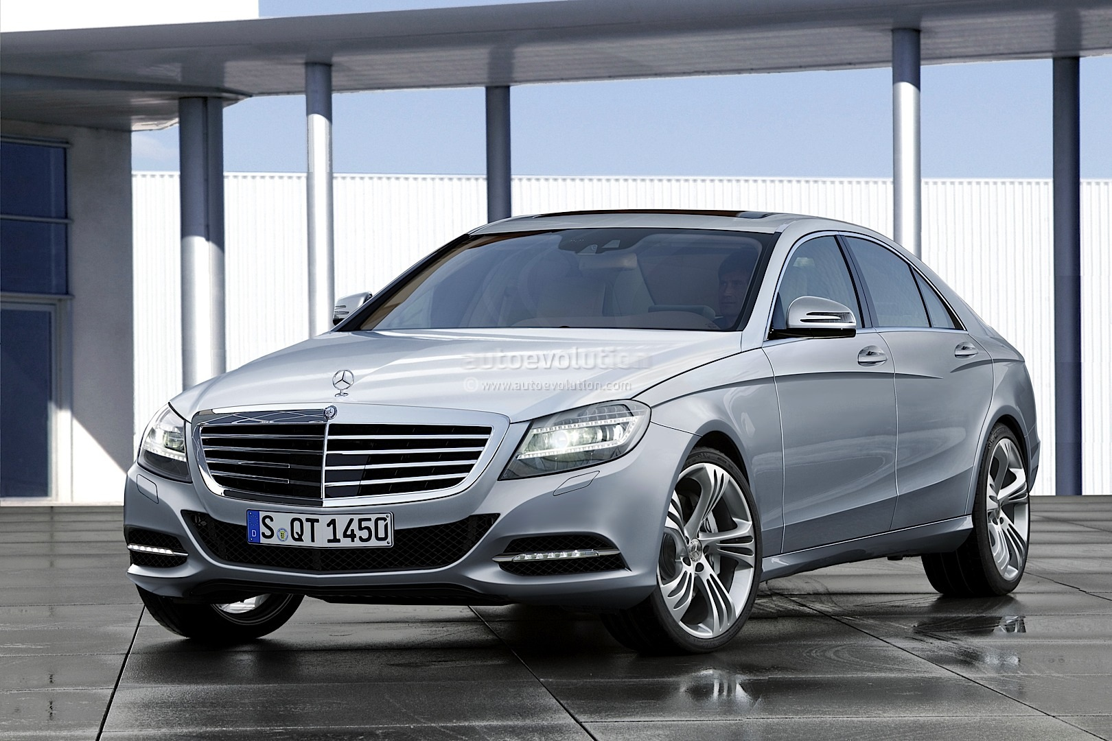 2013 mercedes s class rendering released autoevolution for 2013 mercedes benz s class s550
