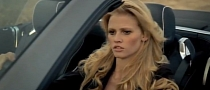 2013 Mercedes SL, Supermodel Lara Stone, Calvin Klein [Video]