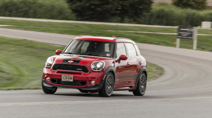 2013 mini john cooper works countryman all4 review by car. Black Bedroom Furniture Sets. Home Design Ideas