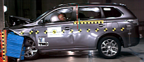 2013 Mitsubishi Outlander PHEV Gets 5-Star Rating from Euro NCAP [Video]
