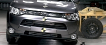 2013 Mitsubishi Outlander Scores Top Euro NCAP Rating [Video]